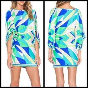 Trina Turk Swim Cover Up Tunic Dress Swim Spa